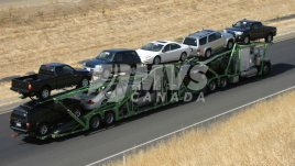 Car Shipping Truck and Trailer