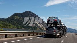 Car Transport through the rockies