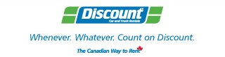 Rent a car with Discount and MVS Canada