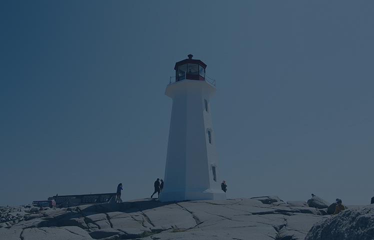 Drive your vehicle to see the rocks of Peggy's Cove