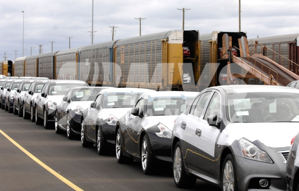 Car Shipping to Calgary by train